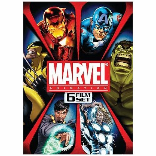 Marvel Animation Box Set Marvel Animation Box Set Ws Nr 6 DVD
