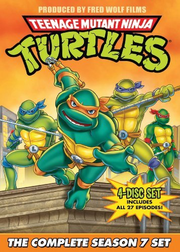 Teenage Mutant Ninja Turtles Season 7 DVD Nr