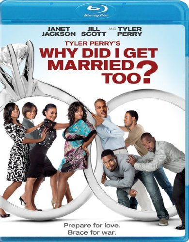 Why Did I Get Married Too? Tyler Perry Perry Jackson Scott Blu Ray Pg13