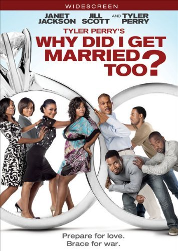 Why Did I Get Married Too? Tyler Perry Perry Jackson Scott DVD Pg13