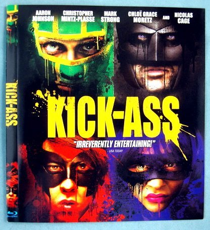 Kick Ass Cage Johnson Mintz Plasse Stro Single Disc Edition