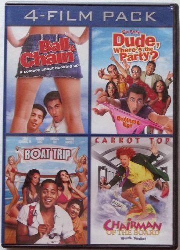 4 Film Pack Ball & Chain Dude Where's The Party? Boat Trip Cha