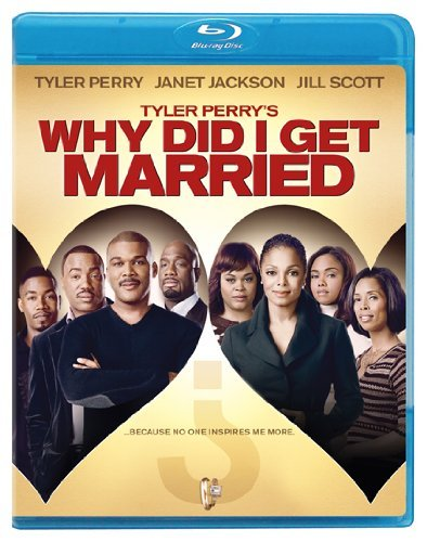 Why Did I Get Married? Tyler Perry Perry Jackson Scott Blu Raypg13