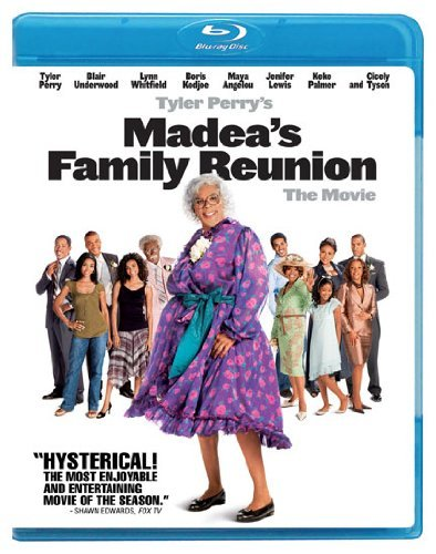 Madeas Family Reunion Tyler Perry Blu Ray Pg13 Ws