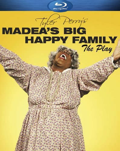 Madea's Big Happy Family (play) Tyler Perry Blu Ray Nr Ws