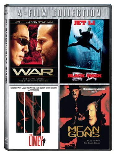 War Black Mask Limey Mean Guns War Black Mask Limey Mean Guns Ws Nr 4 DVD