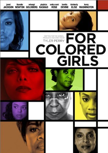 For Colored Girls Tyler Perry Jackson Newton Goldberg DVD R Ws