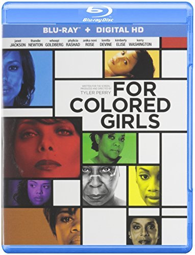 For Colored Girls Tyler Perry Jackson Newton Goldberg Blu Ray R