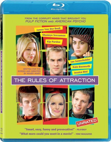 Rules Of Attraction Rules Of Attraction Blu Ray Ws Ur