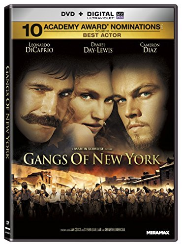 Gangs Of New York Dicaprio Day Lewis Diaz Ws R 2 DVD