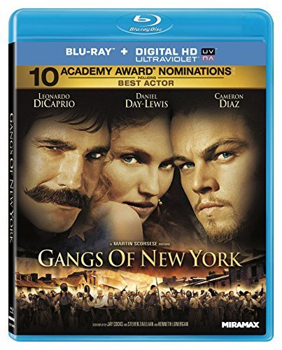 Gangs Of New York Dicaprio Day Lewis Diaz Blu Ray R Ws