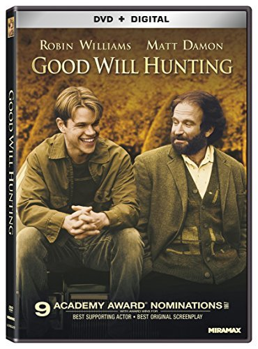 Good Will Hunting Damon Driver Williams DVD R Ws