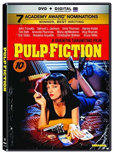 Pulp Fiction Travolta Jackson Thurman DVD R Ws