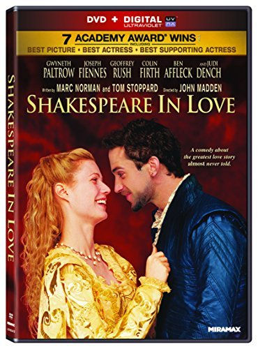 Shakespeare In Love Paltrow Fiennes Affleck R Miramax Coll