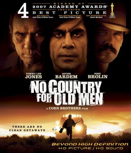 No Country For Old Men Jones Harrelson Brolin Blu Ray R