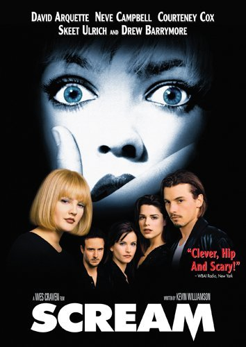 Scream Campbell Cox Barrymore DVD R
