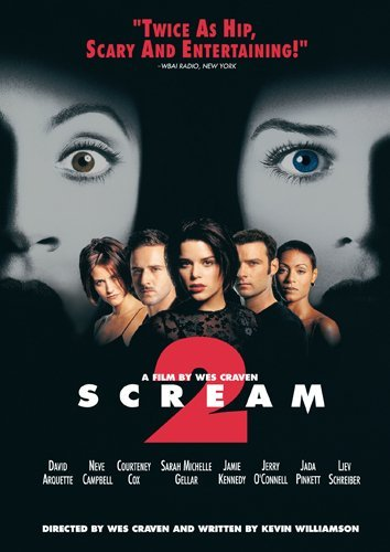 Scream 2 Campbell Cox Arquette Fra Dub Spa Sub Nr Dimension Col