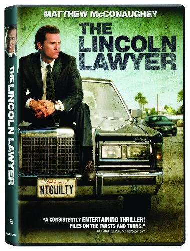 Lincoln Lawyer Mcconaughey Tomei Phillippe DVD R Ws