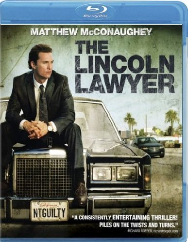 Lincoln Lawyer Mcconaughey Tomei Phillippe Blu Ray Ws R Incl. DVD Dc