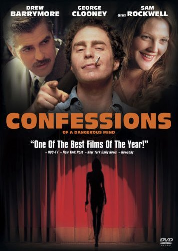 Confessions Of A Dangerous Min Rockwell Clooney Barrymore Rob R