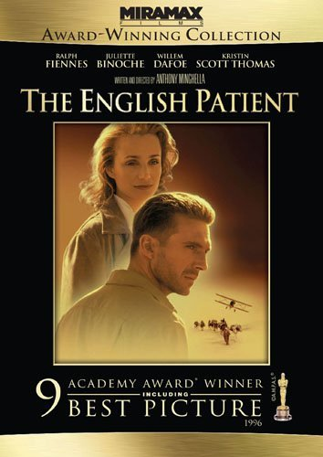 English Patient Fiennes Binoche Dafoe DVD R Ws
