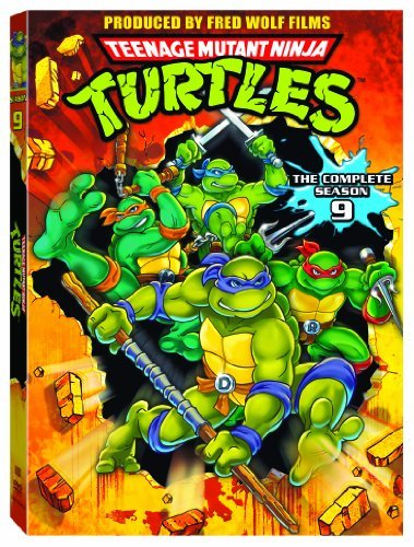Teenage Mutant Ninja Turtles Season 9 DVD
