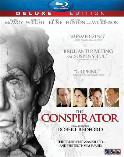 Conspirator (deluxe Edition) Mcavoy Wright Kline Blu Ray Ws Deluxe Ed. Pg13