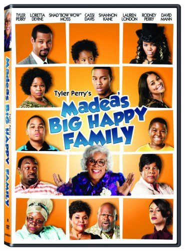 Madea's Big Happy Family Tyler Perry DVD Pg13 Ws