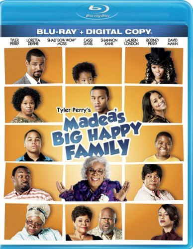 Madea's Big Happy Family Tyler Perry Blu Ray Dc Pg13 Ws