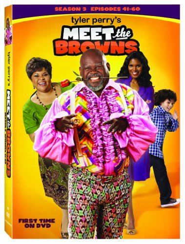 Meet The Browns Season 3 Tyler Perry DVD