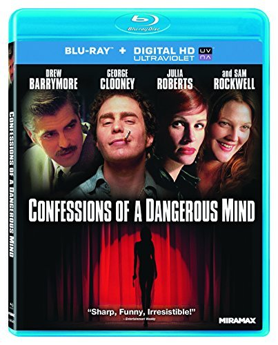 Confessions Of A Dangerous Min Barrymore Clooney Roberts Blu Ray Ws R