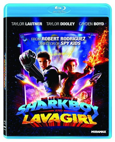 Adventures Of Sharkboy & Lava Girl Lautner Dooley Boyd Blu Ray Ws R