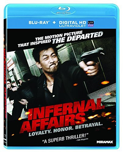 Infernal Affairs Lau Wai Chau Sang Blu Ray Ws R