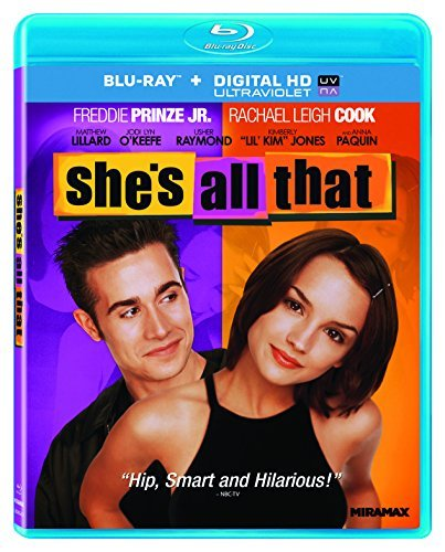 She's All That Prinze Cook Walker Blu Ray Ws Pg13
