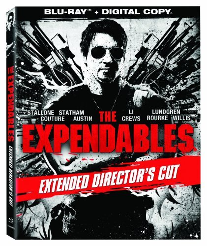 Expendables Stallone Statham Li Lundgren Blu Ray Extended Cutr Ws