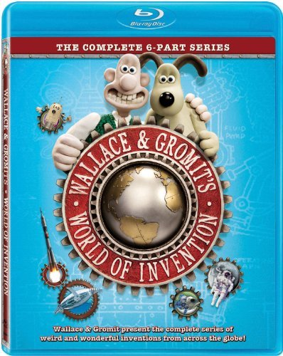 World Of Invention Wallace & Gromit Blu Ray Ws Nr
