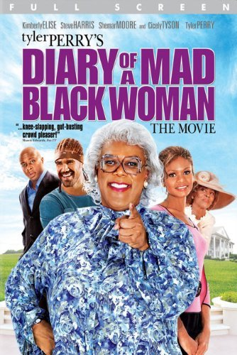 Madea Diary Of A Mad Black Woman Tyler Perry DVD Pg13