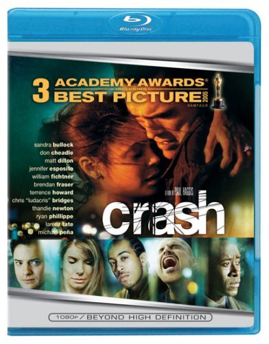 Crash Bullock Dillon Cheadle Blu Ray Ws R