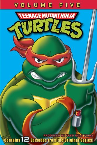 Teenage Mutant Ninja Turtles Volume 5 DVD Nr