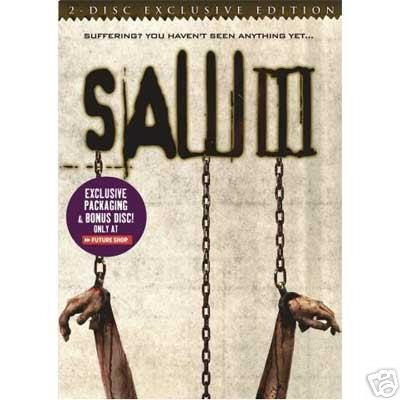 Saw 3 Bell Smith Wahlberg 2 Disc Ex. Ed.