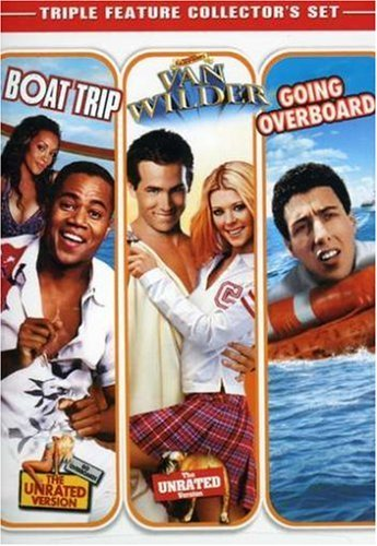 Boat Trip Van Wilder Going Overboard Vol. 1 Ws Fs Triple Feature Collector's Set
