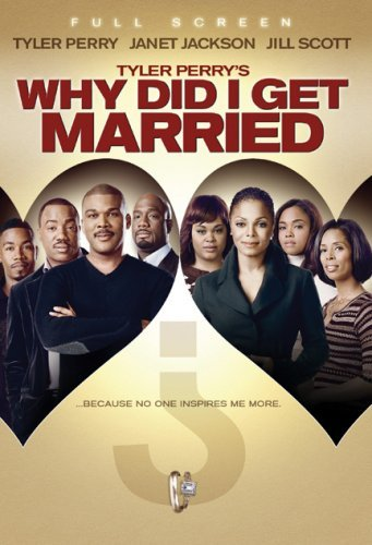 Why Did I Get Married? Tyler Perry Perry Jackson Scott DVD Pg13