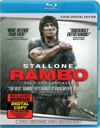 Rambo (2008) Stallone Sylvester Blu Ray Ws With Digital Copy R