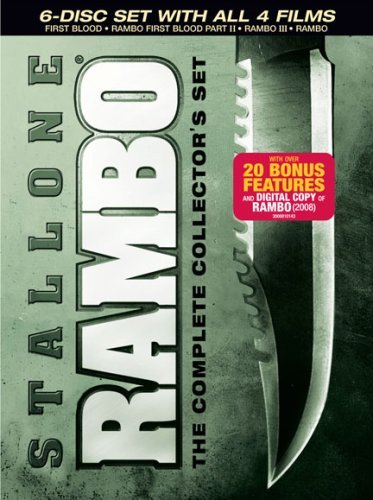 Rambo Complete Collectors Set Stallone Sylvester Nr 6 DVD