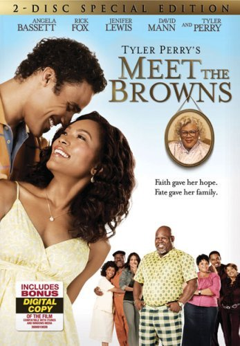 Meet The Browns Tyler Perry Bassett Perry Vergara Fox DVD Pg13