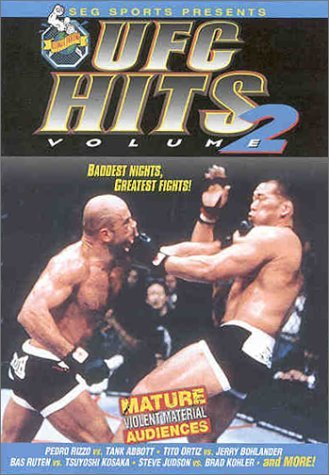 Vol. 2 Ufc Hits Ultimate Fighting Championship Clr Nr