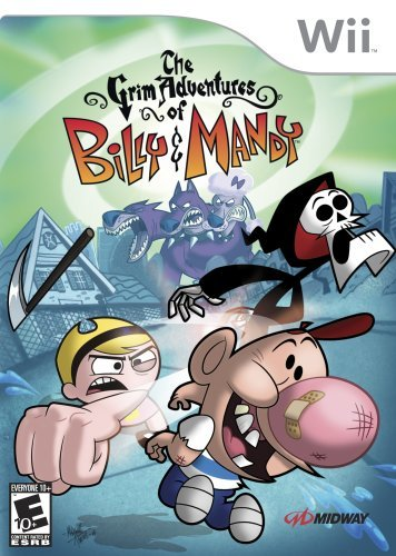 Wii Grim Billy & Mandy