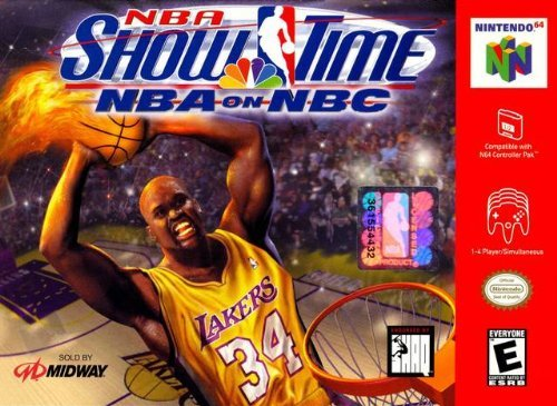 Nintendo 64 Nba Showtime E