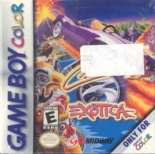 Gameboy Color Cruis'n Exotica E