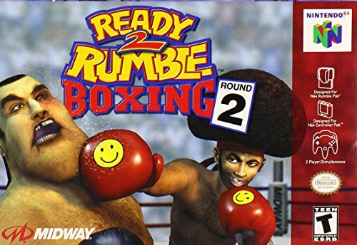Nintendo 64 Ready 2 Rumble Round 2 T